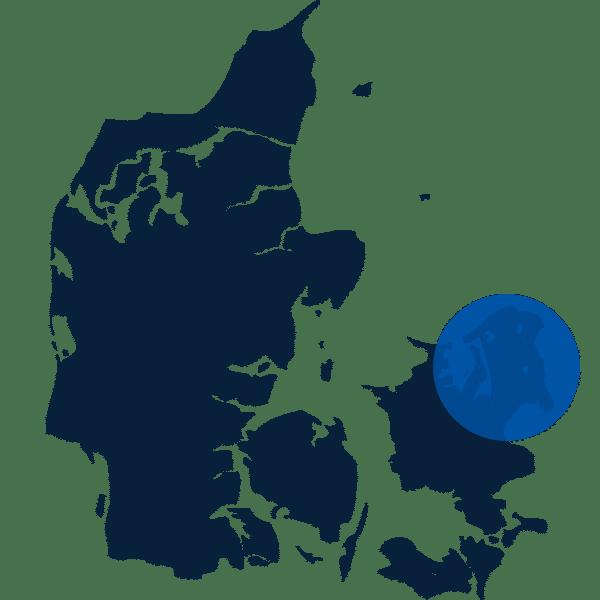 Slamsugning på Sjælland
