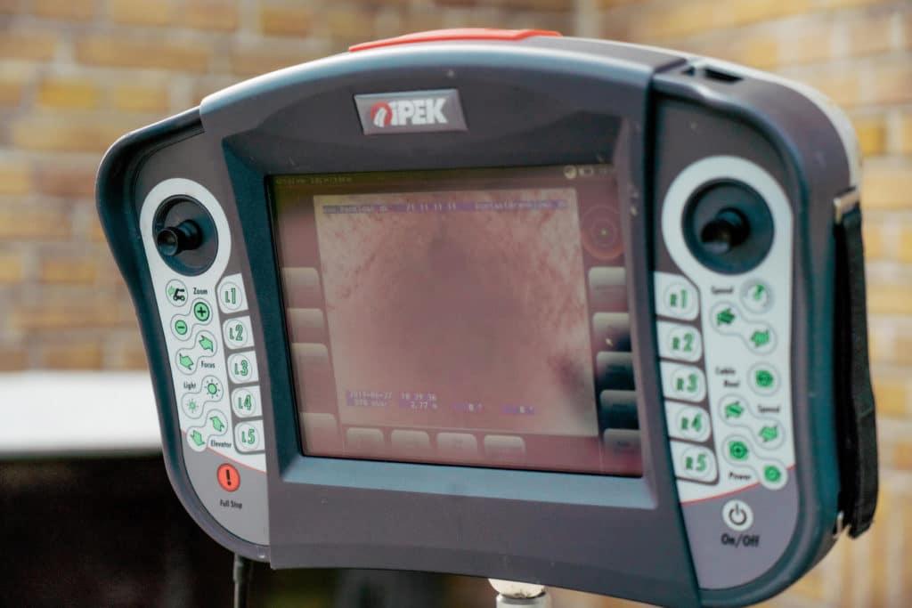 Professionelt udstyr til tv-inspektion